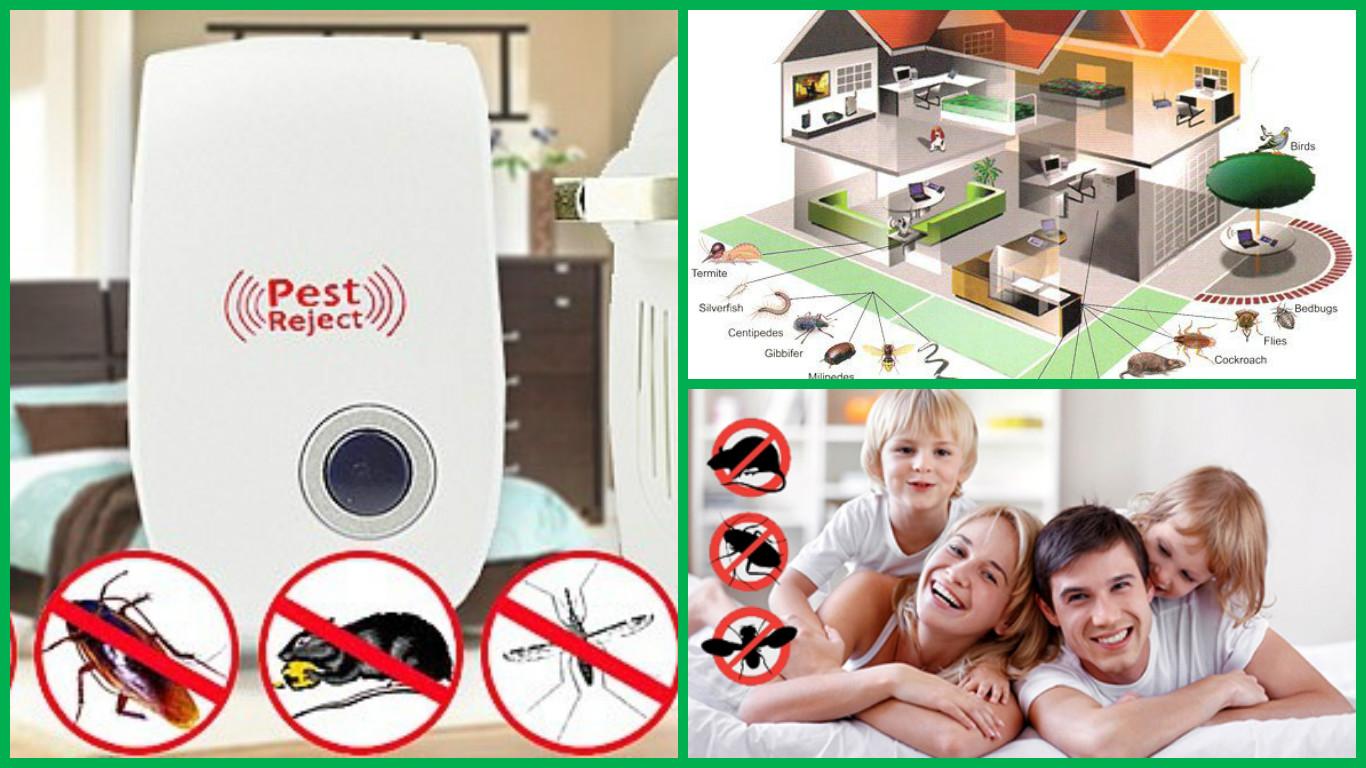 Ультразвуковой отпугиватель комаров, грызунов и не только! Сбор 23