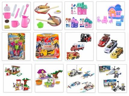 Детские интересные игрушки для мальчиков и девочек. И распродажа детской посуды. Доступные цены