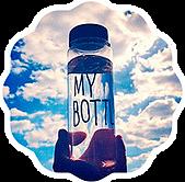 Сбор заказов. Только 2 дня стильная бутылка для воды my bottle