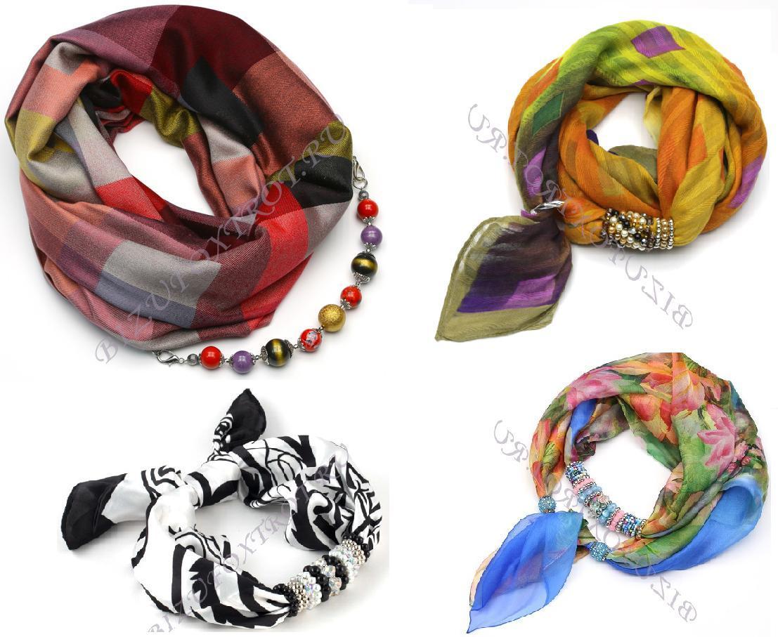 Сбор заказов.Изысканные шарфы, косынки, платки с украшениями из Чехии, а также бижутерия из чешского бисера и стекла -будьте неотразимы-17!Сногсшибательная теплая коллекция! Ловите взгляды окружающих на себе!