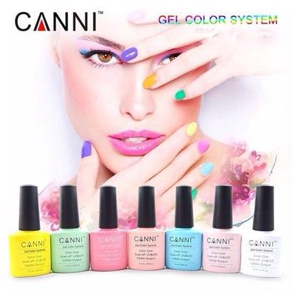 Гель лаки Canni по 125р хорошего качества сочные, насыщенные цвета на любой вкус. А также лаки сэффектами: кошачий глаз, термо и гель краска