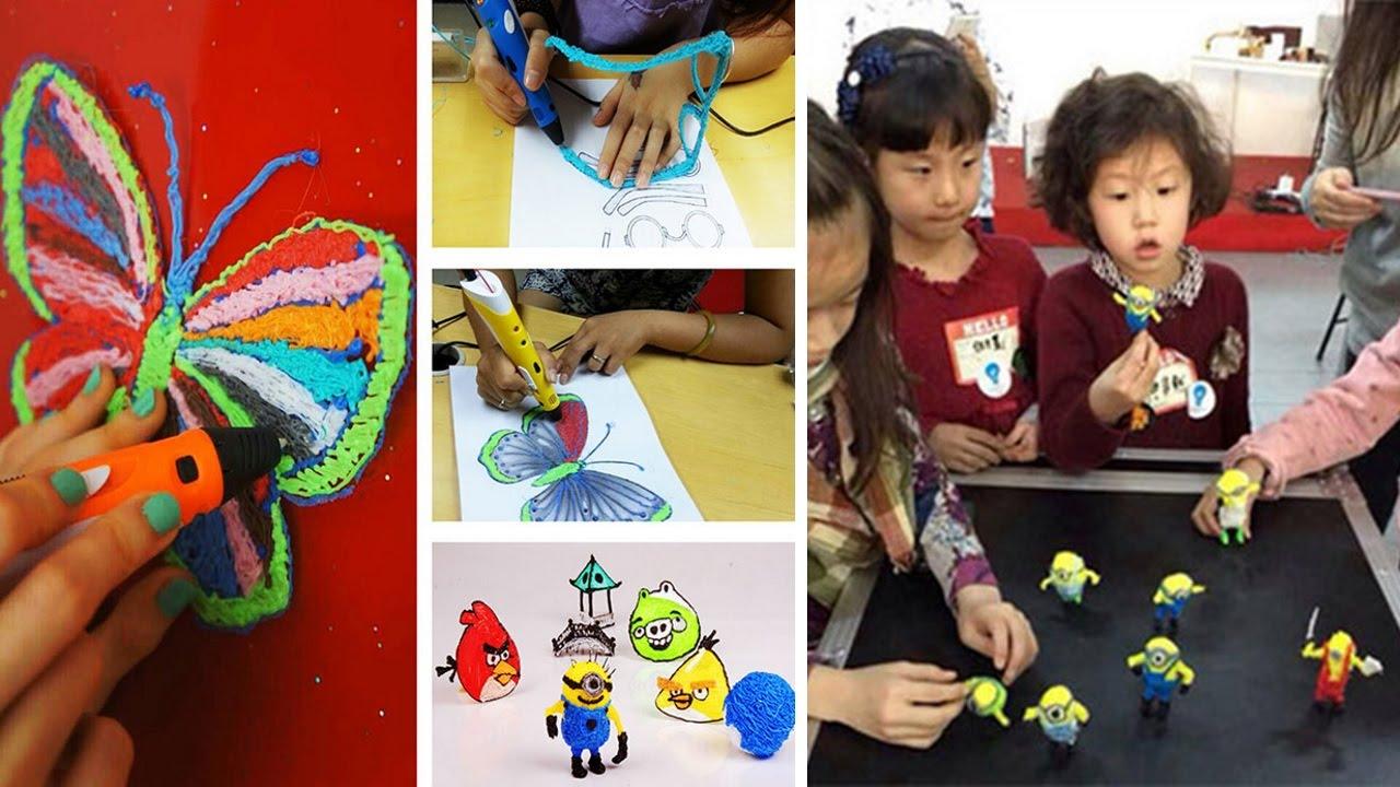 Сбор заказов. Новые технологии в мире игрушек. 3D-ручки - безграничные возможности для творчества. Отличный подарки для детей у которых уже все есть) Готовимся к Новому году! 2 выкуп.