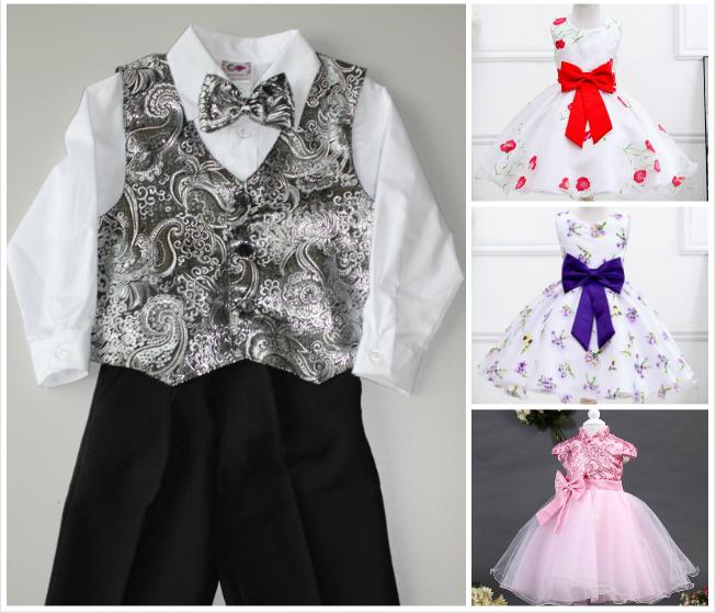 Ну очень красивые праздничные платья и болеро для наших дочек. Нарядная одежда для сыночков. Выкуп 1