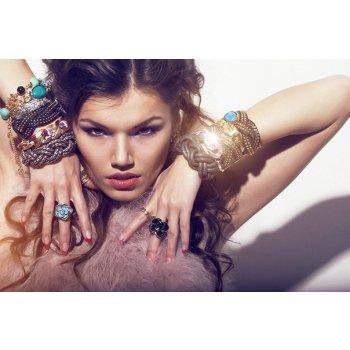 Сбор заказов.Бижутерия F21,HM,Siх,Claires,Diva. Сережки, цепочки, кольца, украшения для волос-17