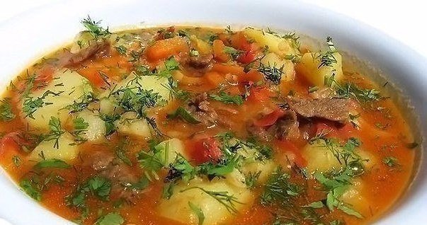 Шурпа - прекрасный суп