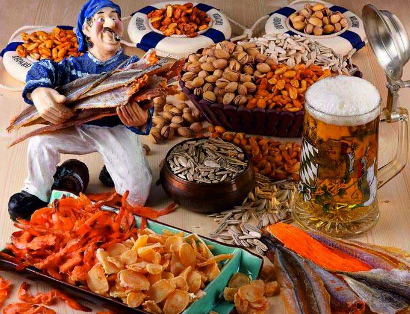 Сушеные морепродукты - самые низкие цены. Акция от поставщика. А также вяленая рыбка, орешки, сухарики.