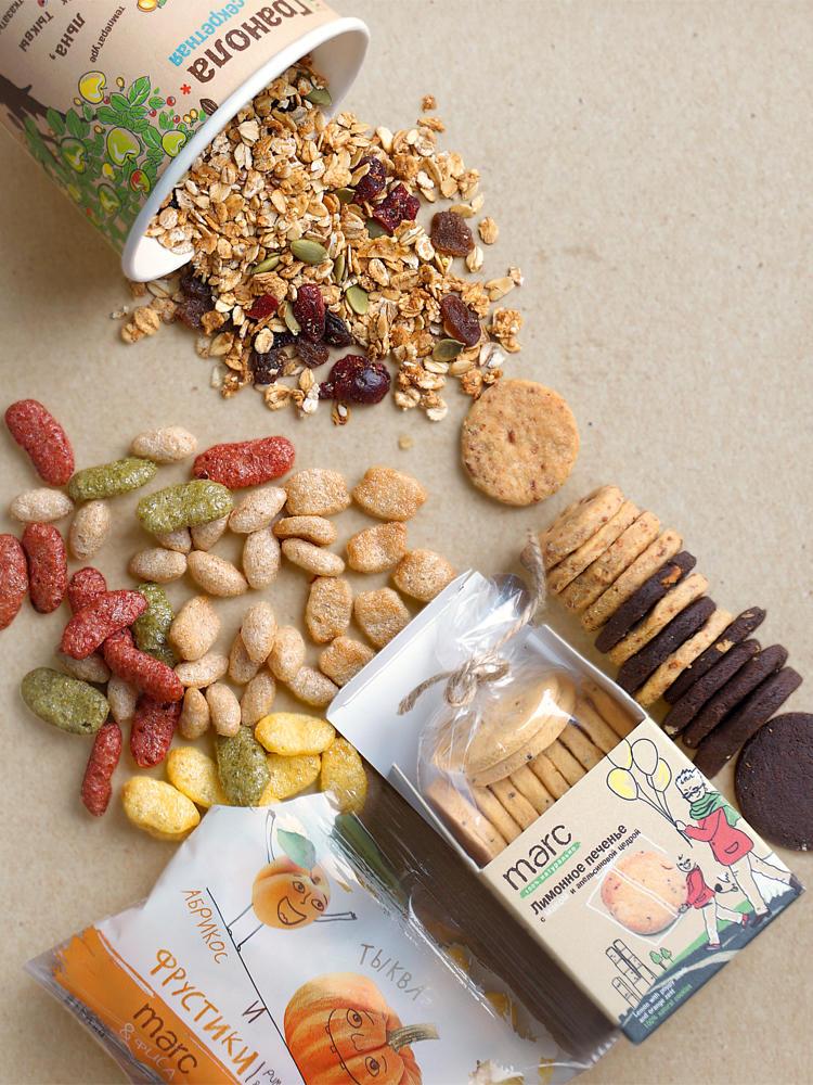 Фрустики, каши и другие суперполезные и натуральные вкусняшки от компании Marc&Фиса. Без искуственных красителей, консервантов, ГМО и глютена! Выкуп 2
