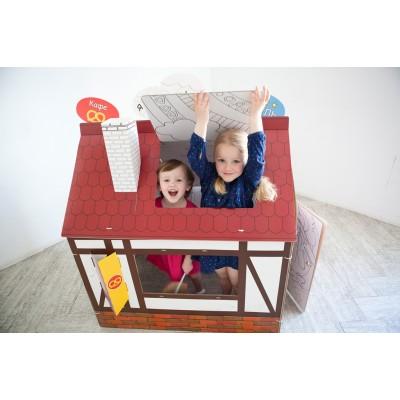 Эко-игры - домики-раскраски, игровые наборы и картонные конструкторы. А также огромное напольное пианино и кресла-гамаки!