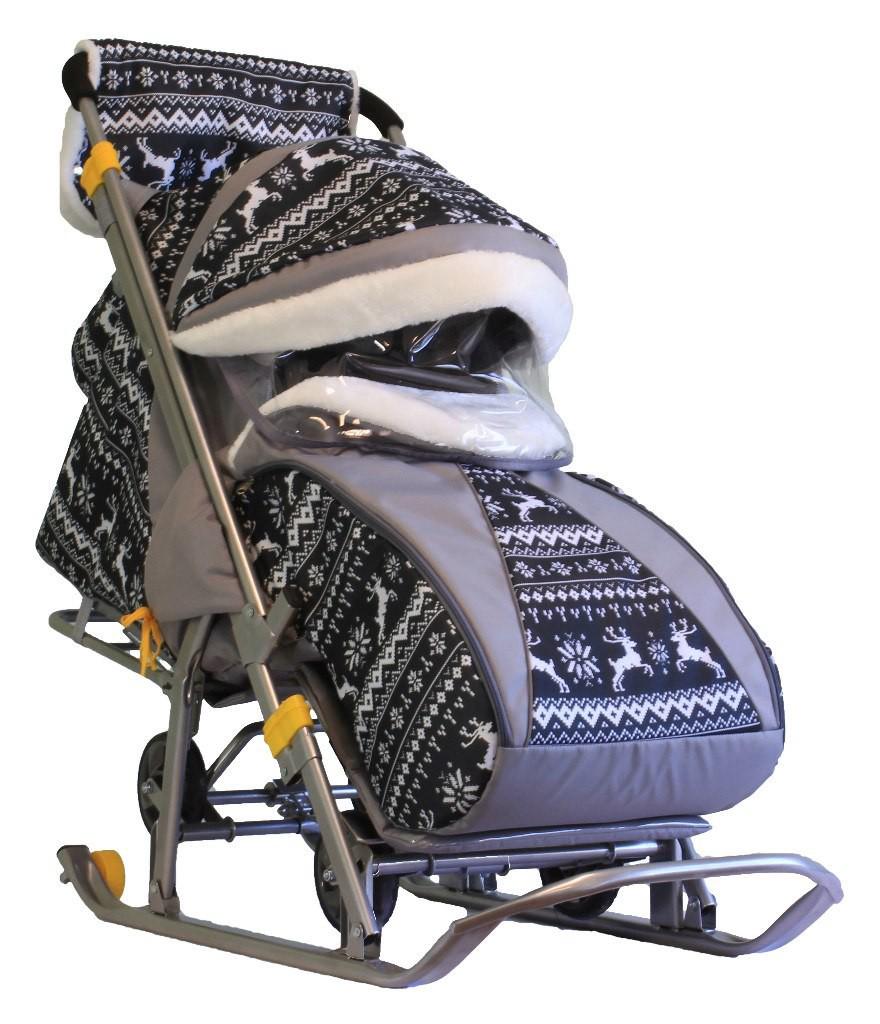 Сбор заказов.Популярные Санки-коляски Gаlаxy кids 1 (Галактика детям1) с муфтой и матрасиком! Новинка 2016 года! Выкуп