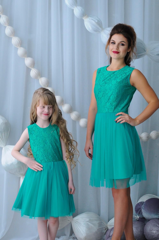 Cбор заказов. Платья, юбки, блузки для девочек и их мам в едином стиле family look, новая новогодняя коллекция,а какие цены...всем понравятся-