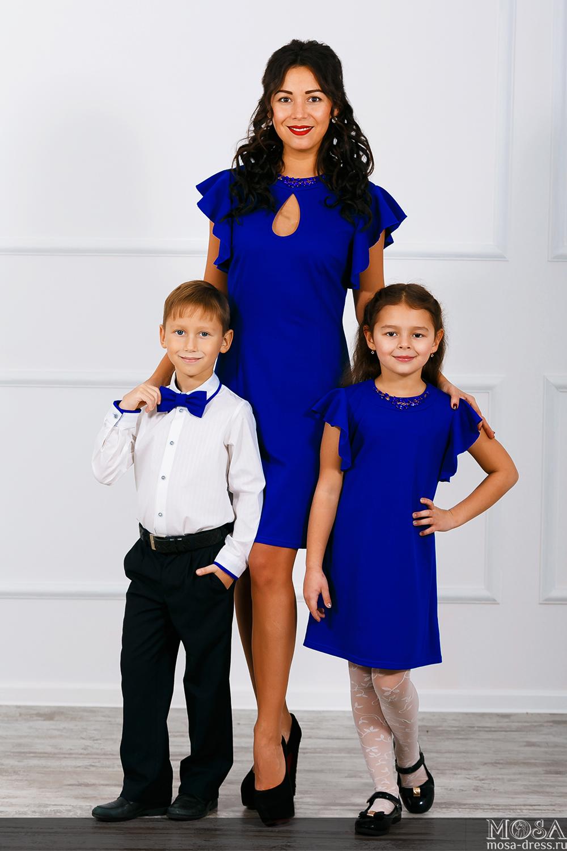 Обалденные новинки Family Look и карсивые платья для нас от Mosa