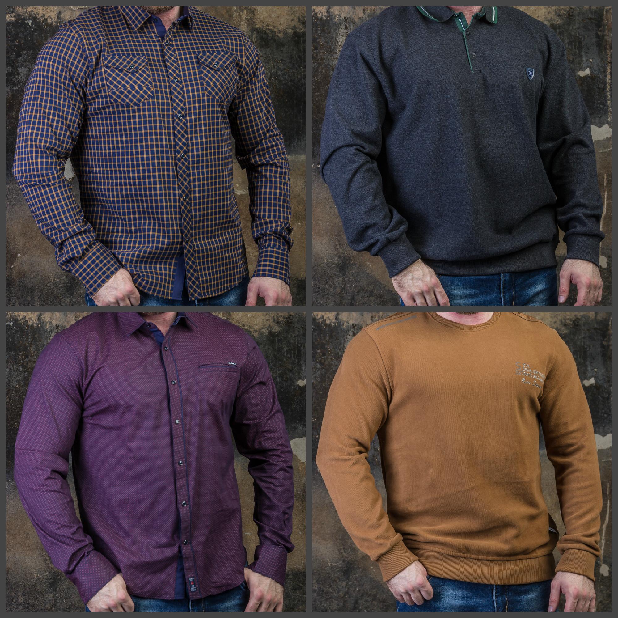Новинки: толстовки, рубашки, джемпера (размеры 56-62)