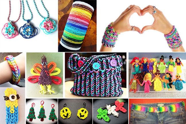 ПРИСТРОЙ! Резиночки для плетения. Дешево! 600шт, 4200шт, 4800шт. Красивые наборы. Мишки, сундучки.