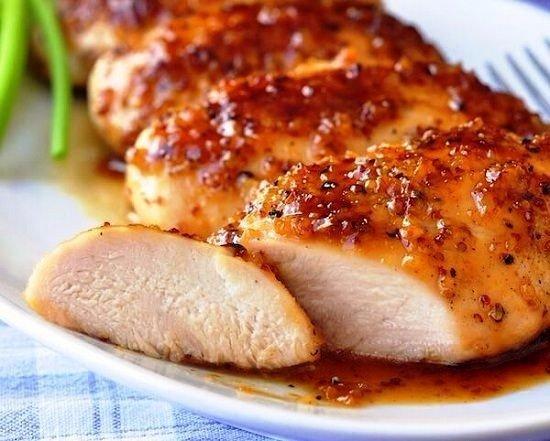 Сочное филе в медовом-соевом соусе!