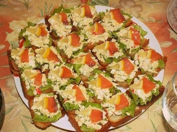 Бутерброды Пикантные