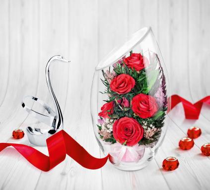 Сбор заказов. Остановите время для живых цветов! Изящные интерьерные аксессуары из живых цветов, сохраняющие свою красоту долгие годы для родственников, друзей, коллег