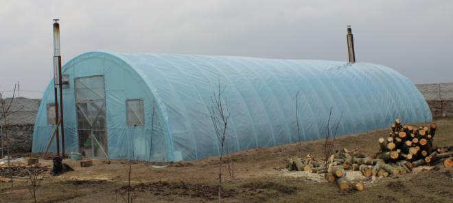 Строительство промышленных теплиц в Украине