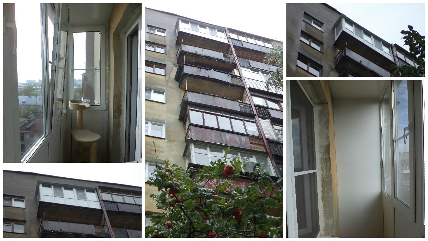 Балкон на пр.Гагарина, 10 этаж