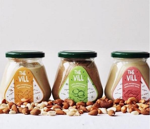 Арахисовые пасты The Vill - 5. Полезно, натурально, вкусно! От 200р. Новинка - ореховые чаи!