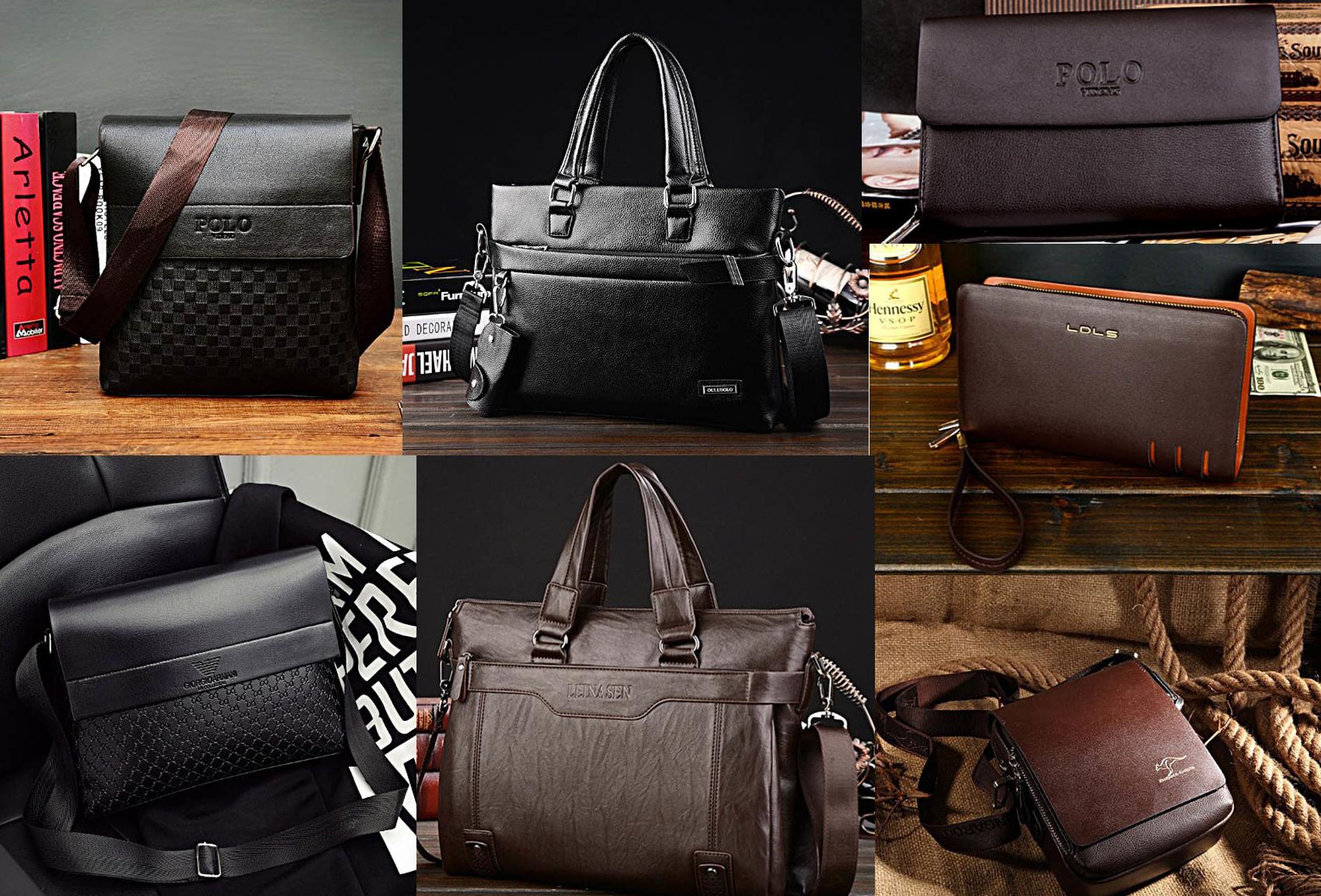 Готовим подарки к  23 февраля!!Мужские сумки, портфели и клатчи.А так же полно женских сумочек.