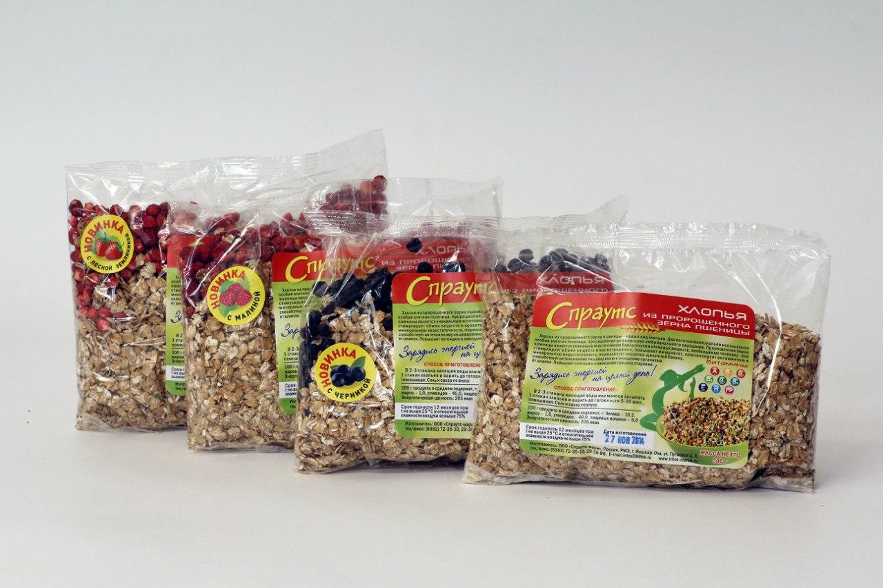 Сбор заказов. Здоровая еда-зерно пшеницы пророщенное целое и измельченное, хлопья из пророщенного зерна , хлопья для похудения