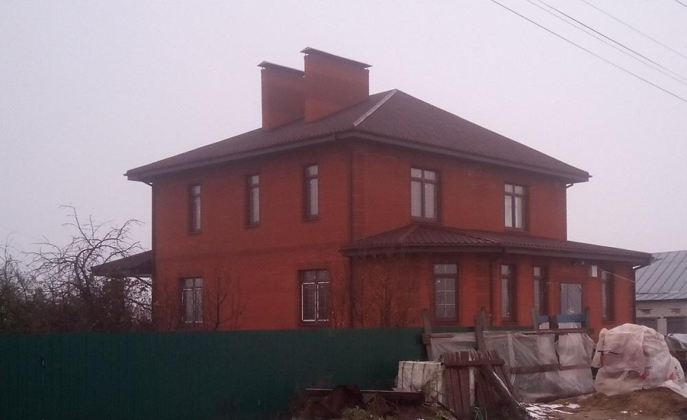 Строительство кирпичного дома онлайн