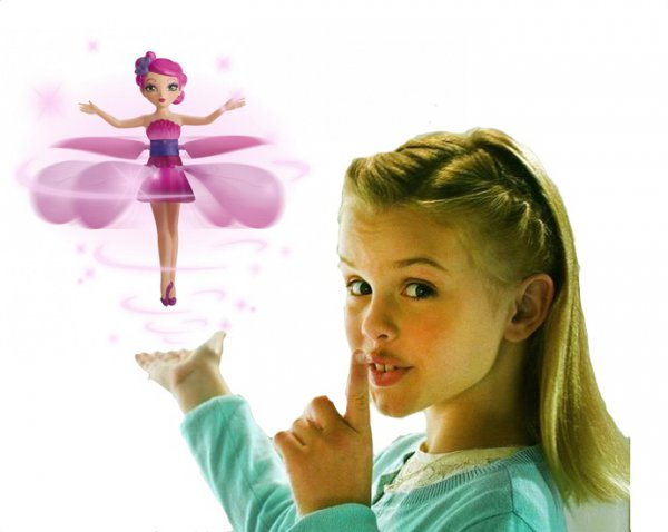 К 8 марта для принцесс!Летающая фея! Лучший подарок !