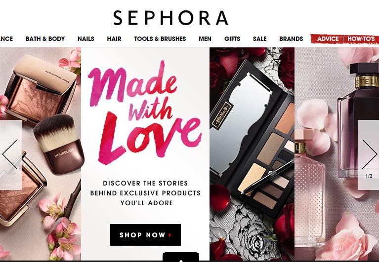 Американская Sephora - 4 . Уходовая косметика, макияж и парфюм. Весь люкс в одном месте!