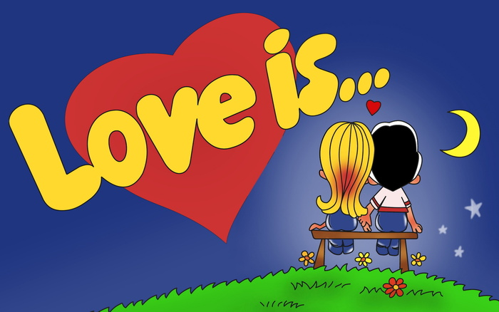 Жвачка LOVE IS - назад в прошлое!