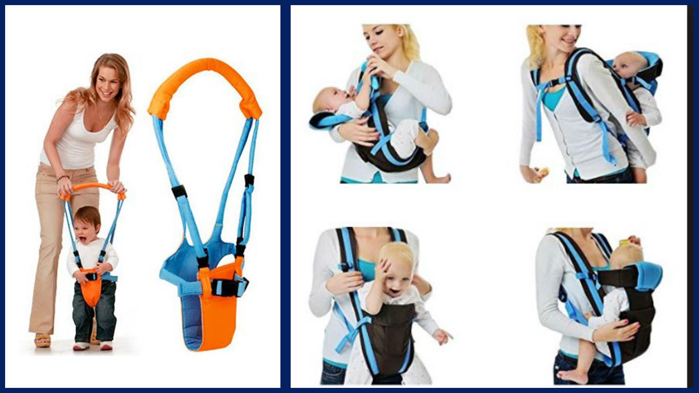Детские слинги и вожжи! Удобно для мамы, весело для малыша!