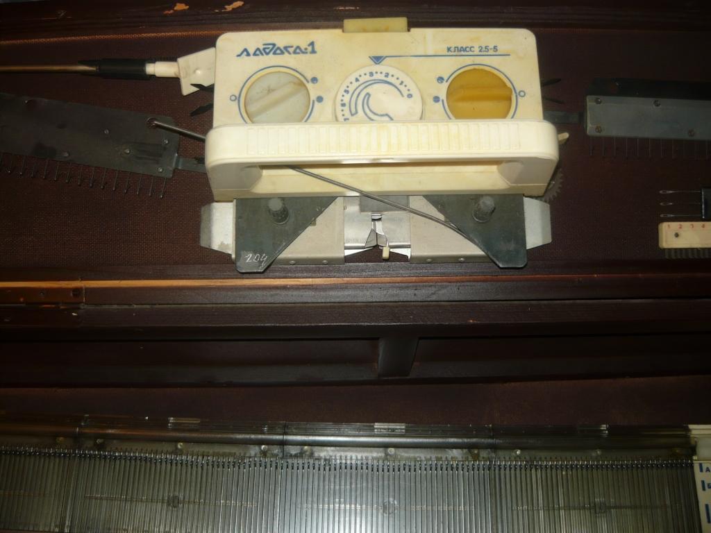инструкция к вязальной машине ладога-1