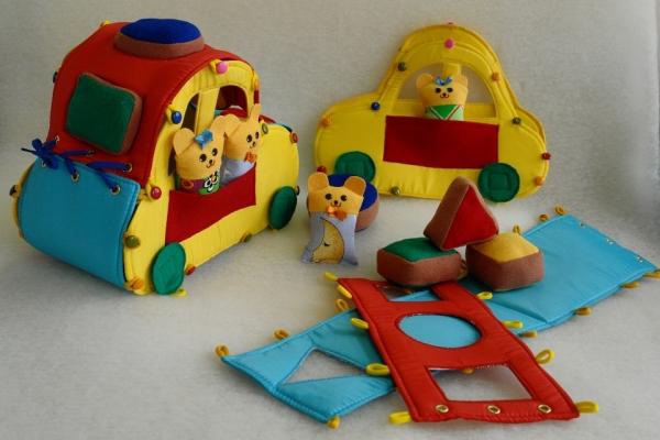 Мягкие развивающие игрушки своими руками для детей