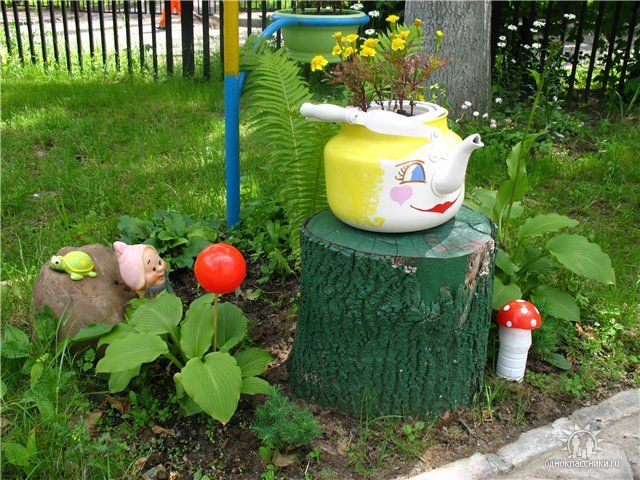 Мой сад и огород поделки своими руками фото