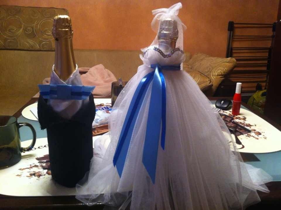 Костюм на бутылку шампанского своими руками 66