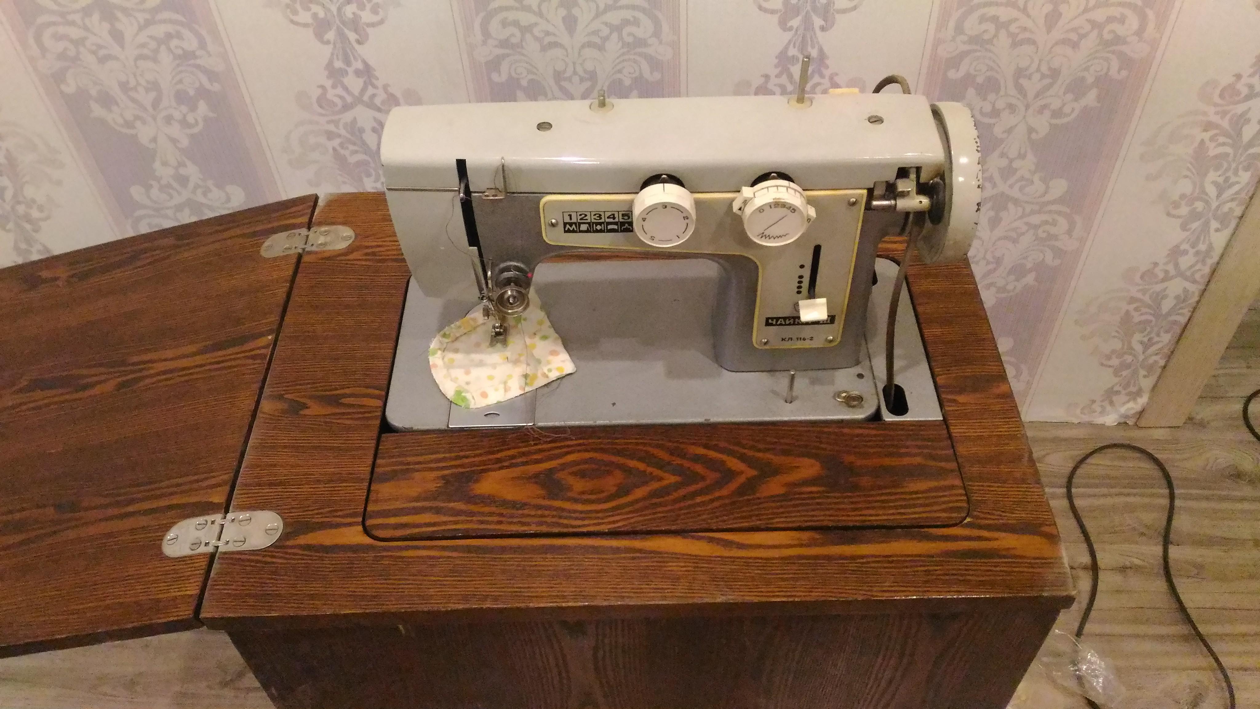Ремонт швейной машины чайка 132м своими руками 91