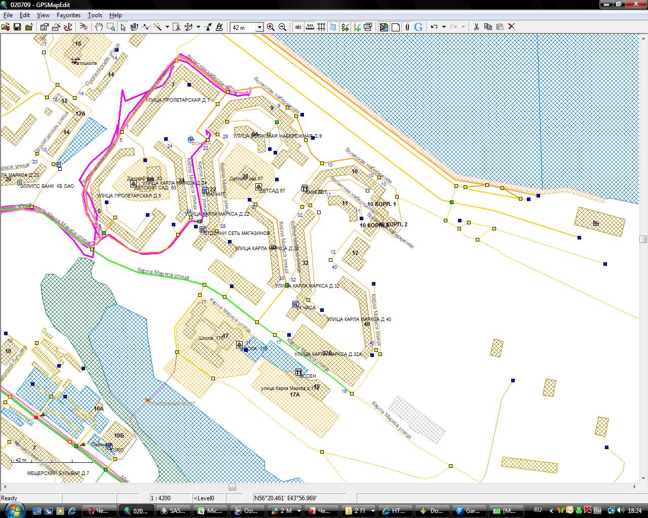 Как сделать карту для навигаторов 296