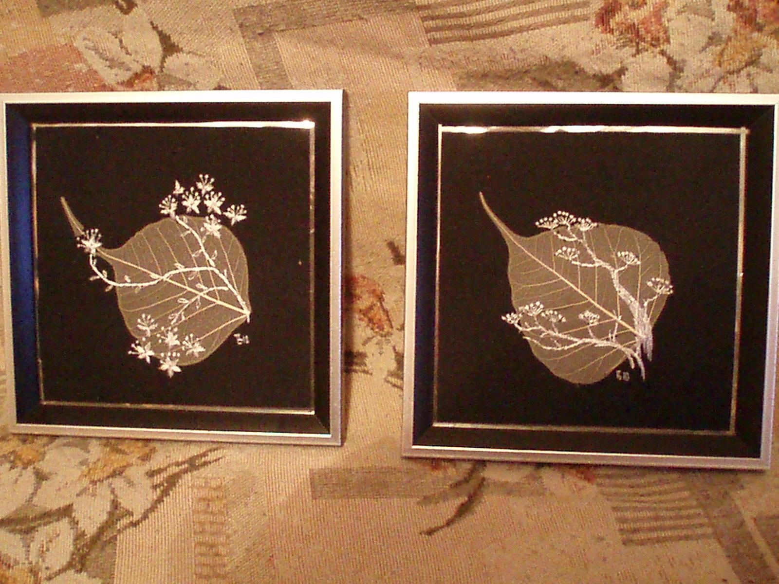 Картины из скелетированных листьев своими руками - Ashouse.ru