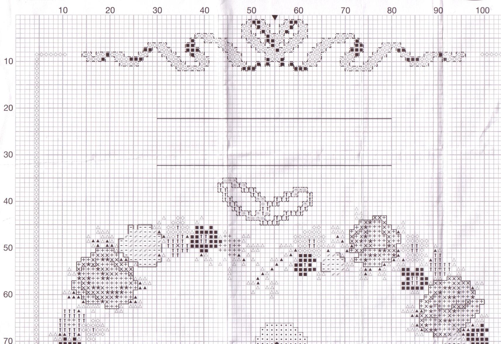 Вышивка крест схема в рм 39