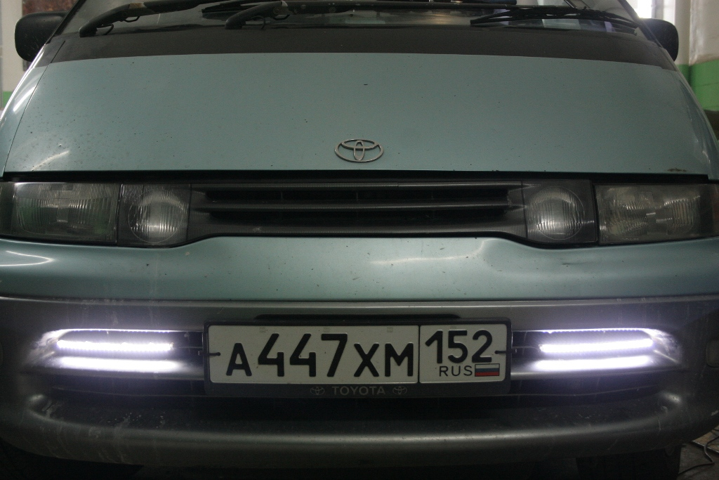 Ходовые огни на авто своими руками от генератора