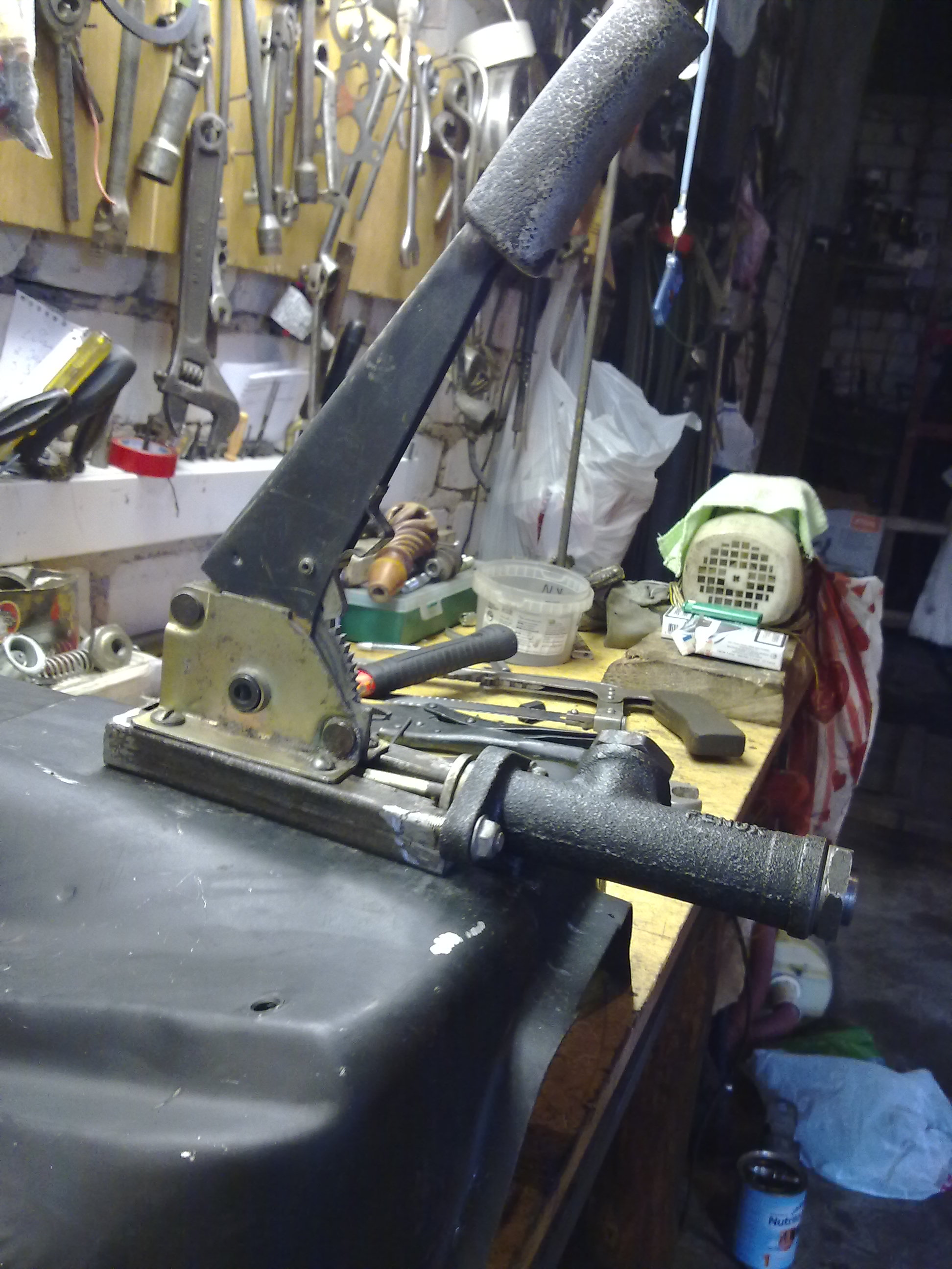 Гидравлический ручник на ваз 2107 своими руками 15