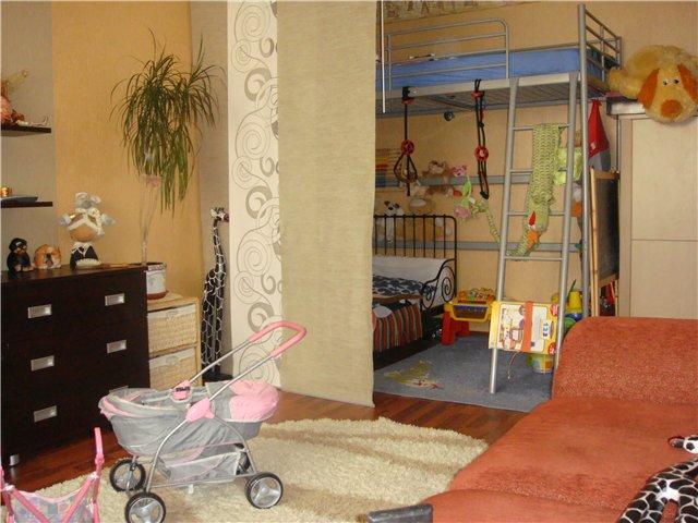 Дизайн квартиры однокомнатной с детской