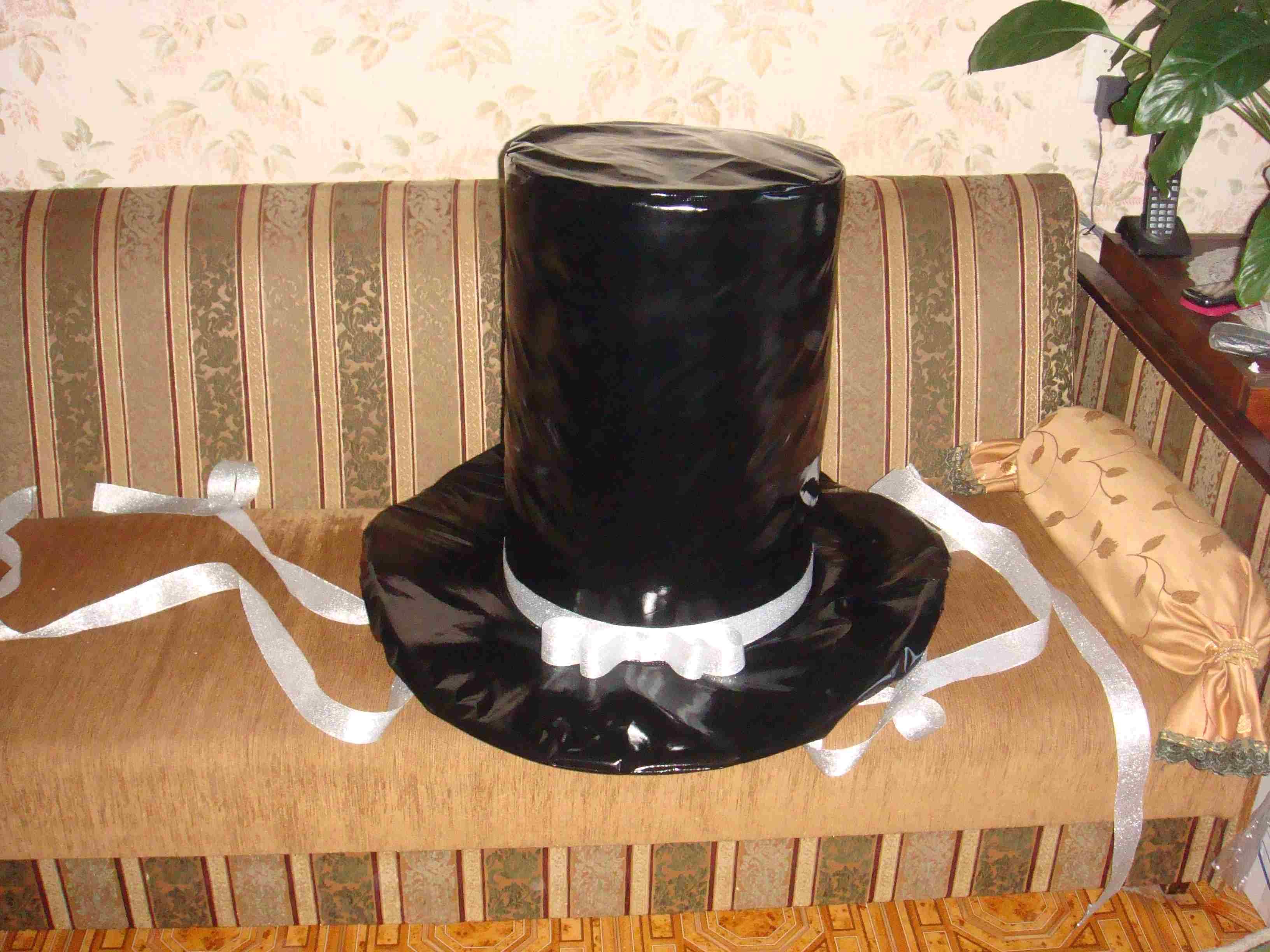 Как сделать свадебную шляпу на машину своими руками 61
