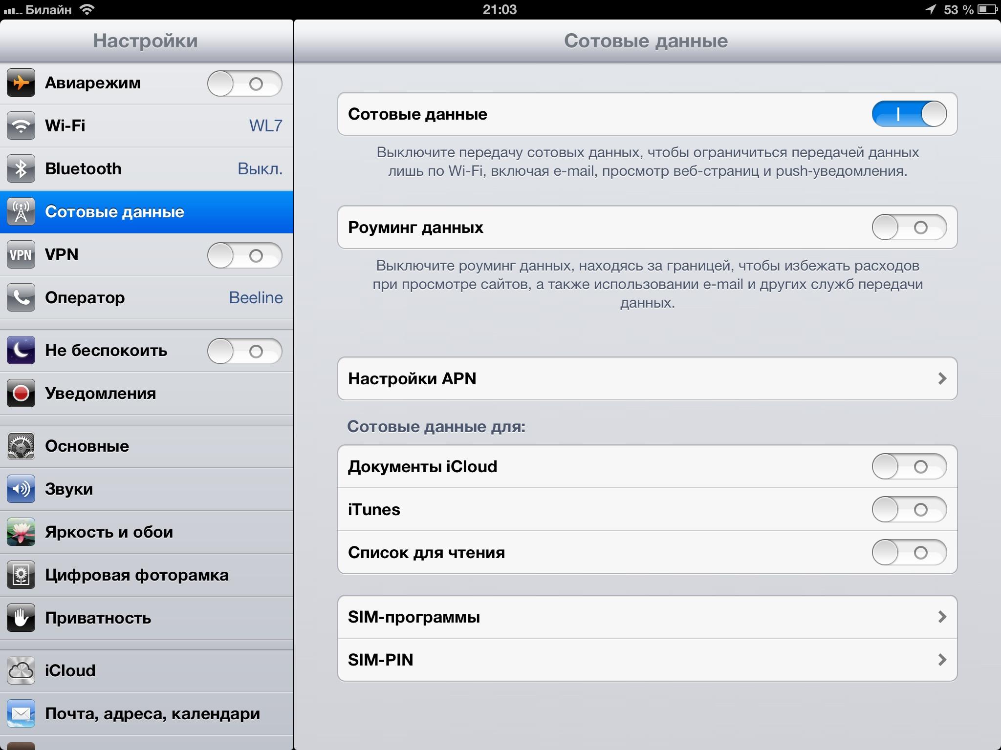 Как сделать на айпаде точку доступа wifi на