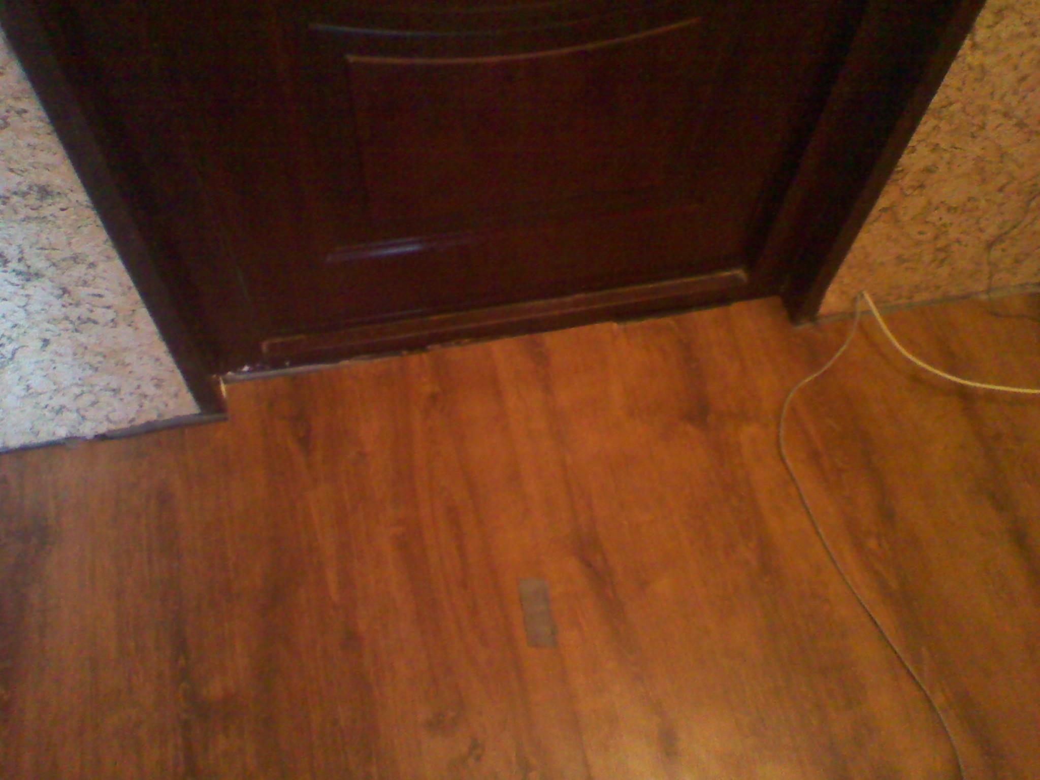 Установка дверного порожка своими руками 27