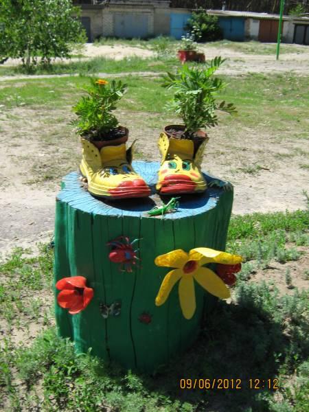 Pin Поделки для сада и огорода из дерева on Pinterest