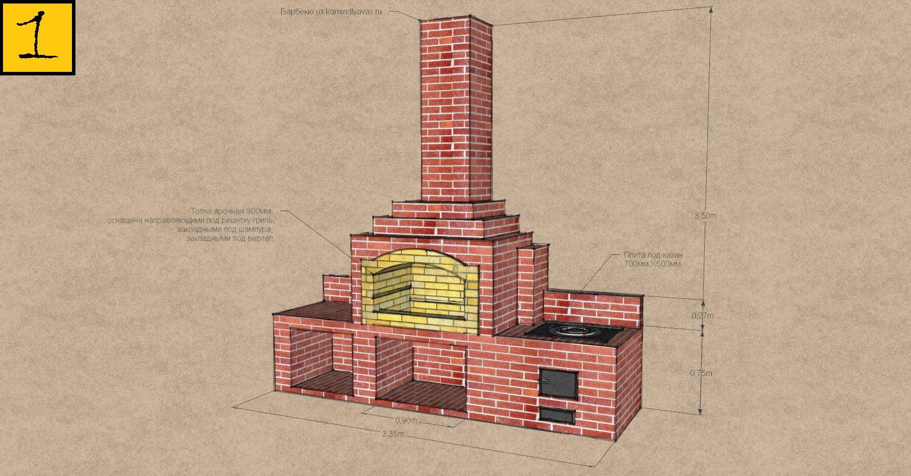 Как построить кирпичную печь 71