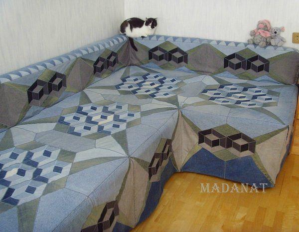 Выкройка на покрывало углового дивана - Как сшить покрывало на диван СПРОСИ, КАК