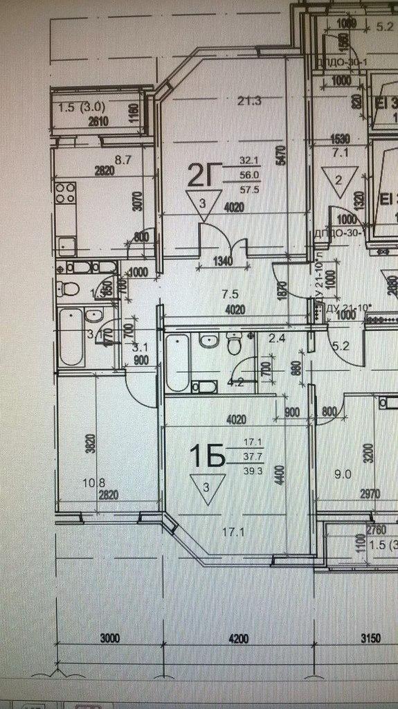 И 155 планировка балкона с размерами..