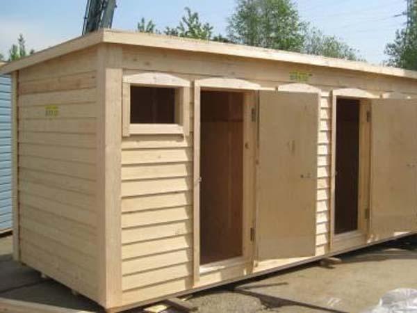 Туалет сарай для дачи