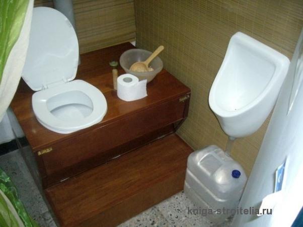 Как сделать туалет в доме своими руками
